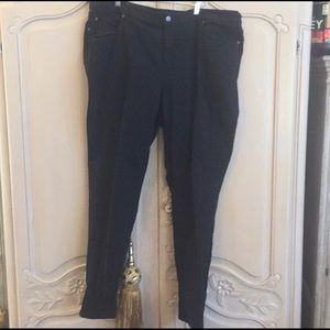 Eileen Fisher Black Jeans 18W